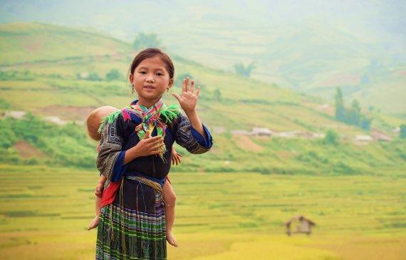 """""""Shutterstock"""" nuotr./Mažoji vietnamietė, Vietnamas"""