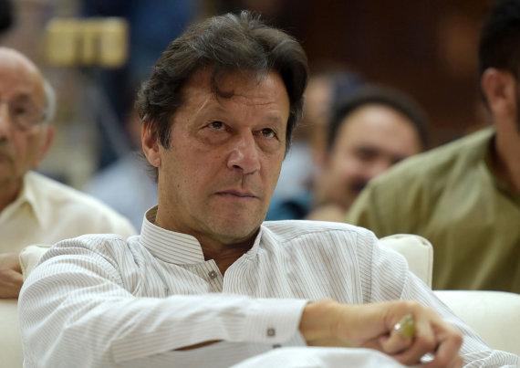 """AFP/""""Scanpix"""" nuotr./Pakistano premjeras Imranas Khanas"""