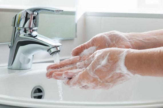 123RF.com nuotr./Plaunasi rankas
