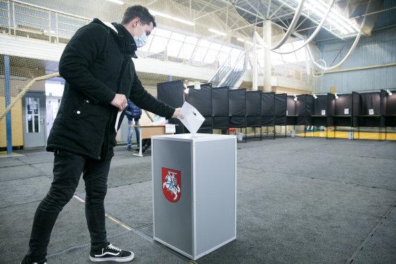 Valdo Kopūsto / 15min nuotr./Balsavimas