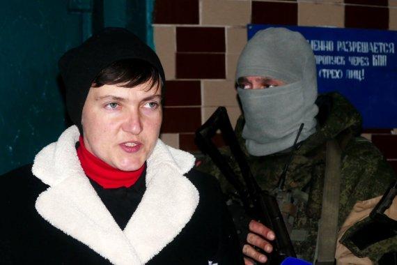 """""""Scanpix""""/AP nuotr./Nadija Savčenko Donbase"""