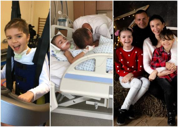 Asmeninio albumo nuotr./Neringa Stanevičienė, dukra Kotryna Remelytė ir šeima
