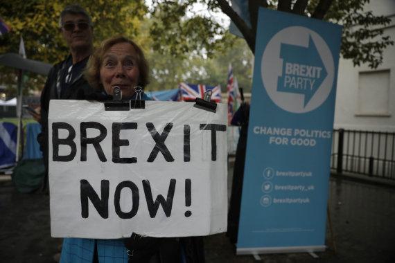 """Scanpix""/AP nuotr./""Brexit"" rėmėja"