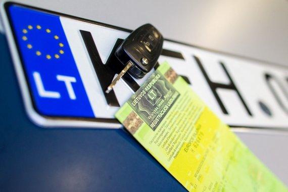 Regitros nuotr./Automobilio registracija