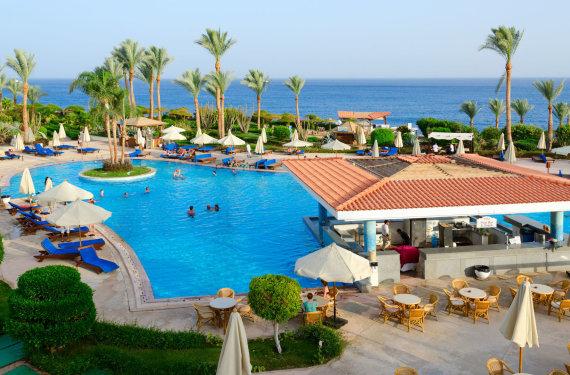 123rf.com nuotr./Viešbutis Egipte