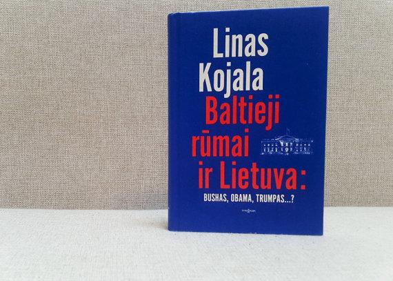 "15min nuotr./Linas Kojala ""Baltieji rūmai ir Lietuva: Bushas, Obama, Trumpas..?"""