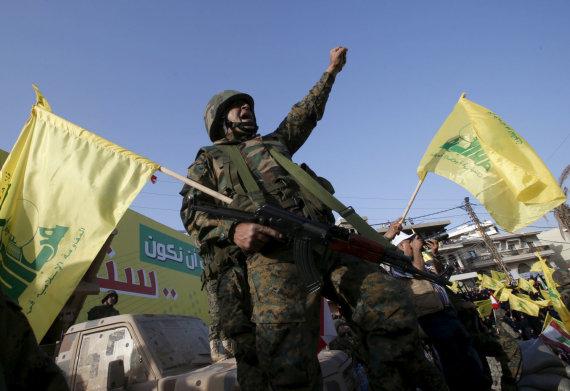 """""""Reuters""""/""""Scanpix"""" nuotr./""""Hezbollah"""" kovotojai"""