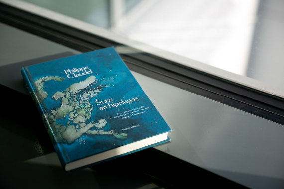 "Žygimanto Gedvilos / 15min nuotr./ Philippe Claudel'io knyga ""Šuns archipelagas"""