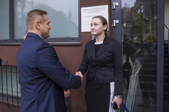 Irmanto Gelūno / 15min nuotr./Eimutis Misiūnas ir Evelina Gudzinskaitė