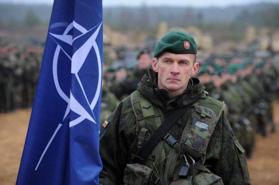 """Alfredo Pliadžio nuotr./NATO pratybos """"Geležinis kardas 2014"""""""
