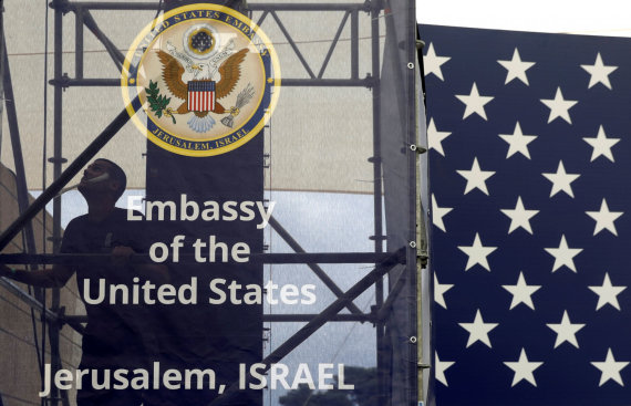 """Reuters""/""Scanpix"" nuotr./Jeruzalėje atidaryta JAV ambasada"