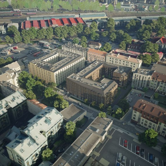 Šv. Stepono St. project by EIKA