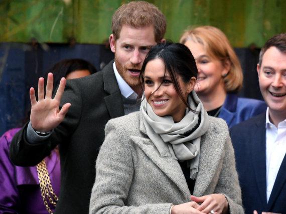 """Scanpix""/""PA Wire""/""Press Association Images"" nuotr./Princas Harry ir Meghan Markle"