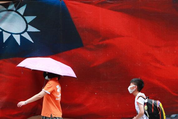 ZUMAPRESS / Scanpix nuotr./Taivano vėliava