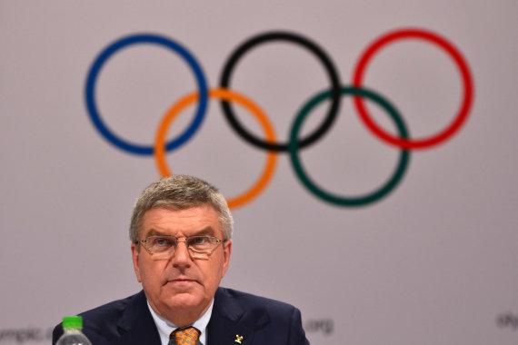 """Scanpix""/""Xinhua""/""Sipa USA"" nuotr./IOC prezidentas Thomas Bachas"