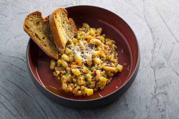 TV3 nuotr./Tiršta itališka keturių grūdų sriuba su daržovėmis