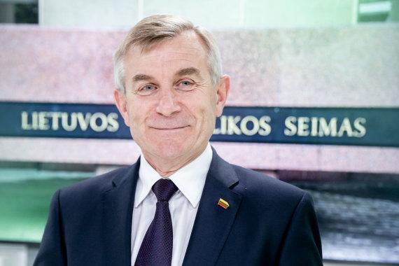 Luko Balandžio / 15min nuotr./15min studijoje – iš Seimo pirmininko posto verčiamas Viktoras Pranckietis