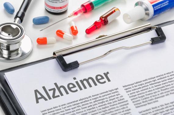 """""""Scanpix"""" nuotr./Diagnozė – Alzheimeris"""
