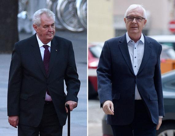 """AFP/""""Scanpix"""" nuotr./Milošas Zemanas ir Jiri Drahošas"""