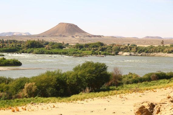 """""""Shutterstock"""" nuotr./Nilo pakrantė, Sudanas, Afrika"""