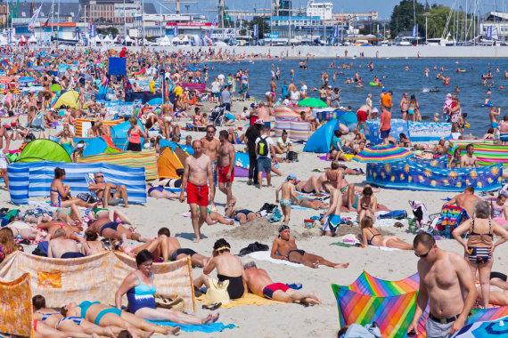 123rf.com nuotr./Gdynės paplūdimys