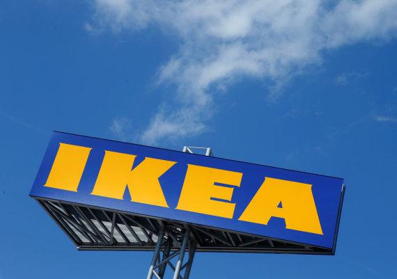 """Reuters""/""Scanpix"" nuotr./""IKEA"" logotipas"