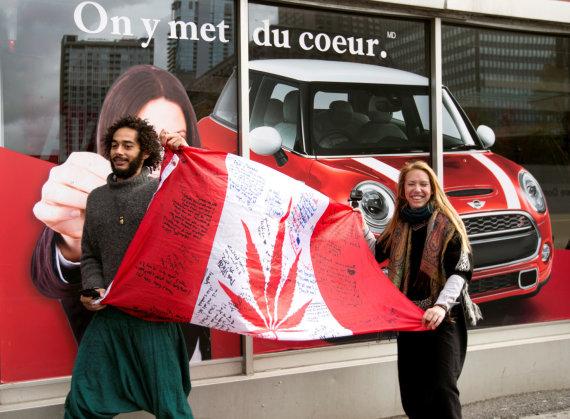 """""""Reuters""""/""""Scanpix"""" nuotr./Kanadoje rekreaciniais tikslais legalizuota marihuana"""