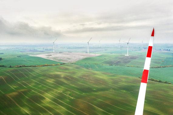 """""""Ignitis"""" nuotr./Pomeranijos vėjo elektrinių parkas"""