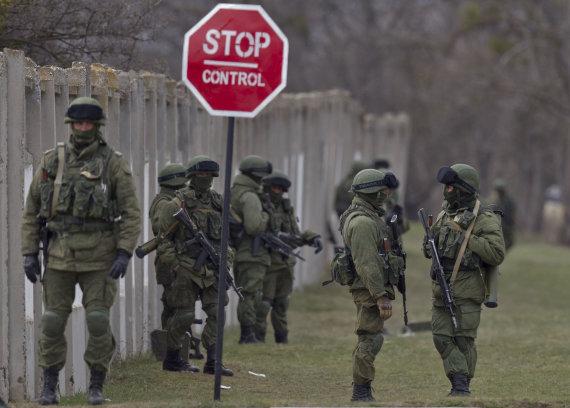 """Scanpix""/AP nuotr./Rusijos kariai Kryme"