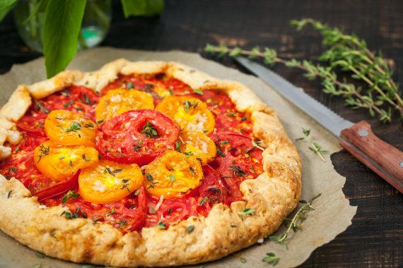 Vida Press nuotr./Galetė su pomidorais