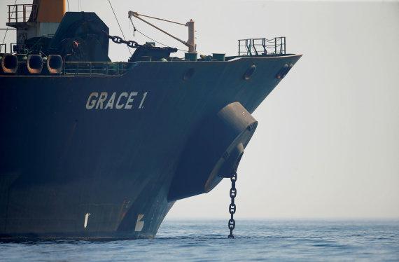 """""""Reuters""""/""""Scanpix"""" nuotr./Tanklaivis """"Grace 1"""""""