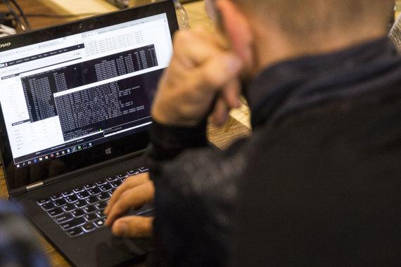 """Luko Balandžio / 15min nuotr./Kibernetinio saugumo pratybos """"Kibernetinis skydas 2016"""""""