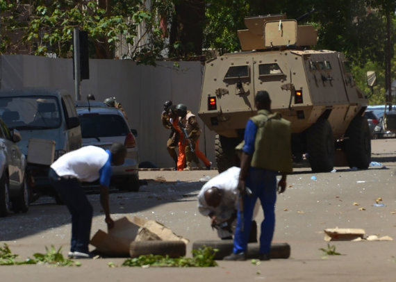 "AFP/""Scanpix"" nuotr./Išpuolis Burkina Fase"
