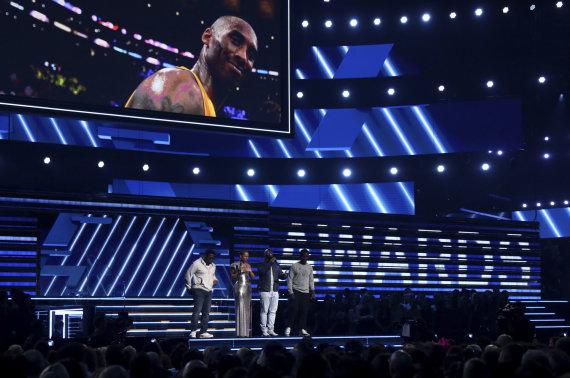 """""""Scanpix""""/AP nuotr./2020-ųjų """"Grammy"""" apdovanojimai"""