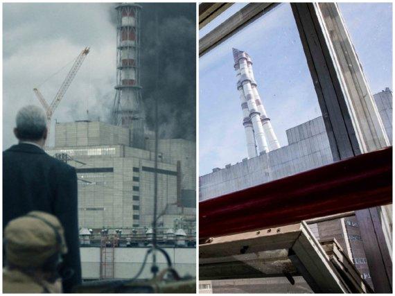 """Serialas """"Černobylis"""" ir Ignalinos AE, kuriame jis buvo filmuojamas"""