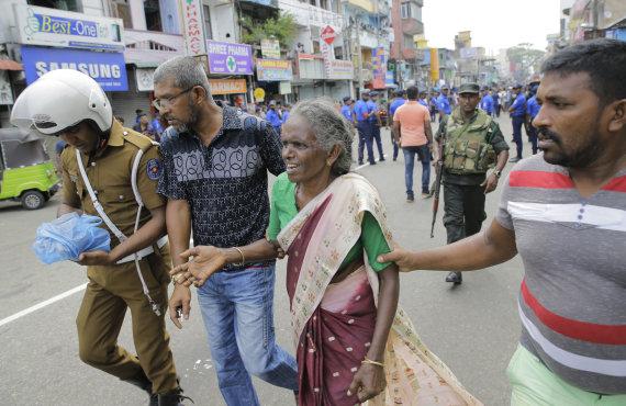 """""""Scanpix"""" nuotr./Šri Lankos bažnyčiose ir viešbučiuose nugriaudėjo sprogimai"""