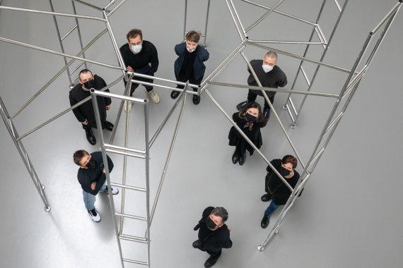 Juliaus Kalinsko / 15min nuotr./17-oje Venecijos architektūros bienalėje šaliai atstovausianti kūrybinė komanda