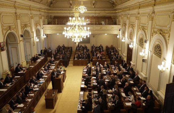 """Scanpix""/AP nuotr./Čekijos parlamentas"