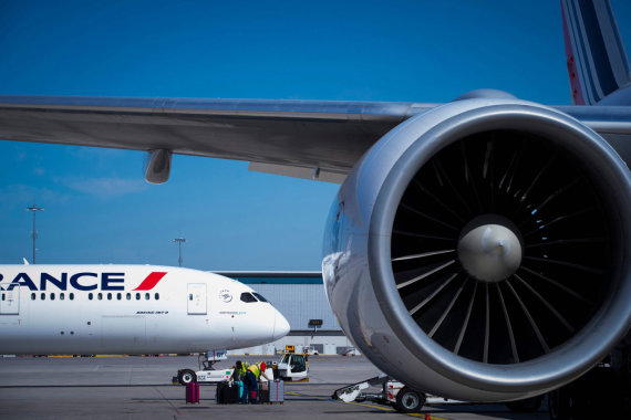"AFP/""Scanpix"" nuotr./Aviakompanijos ""Air France"" lėktuvai"