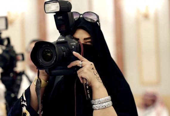 """""""Scanpix""""/AP nuotr./Saudo Arabijos moterys"""