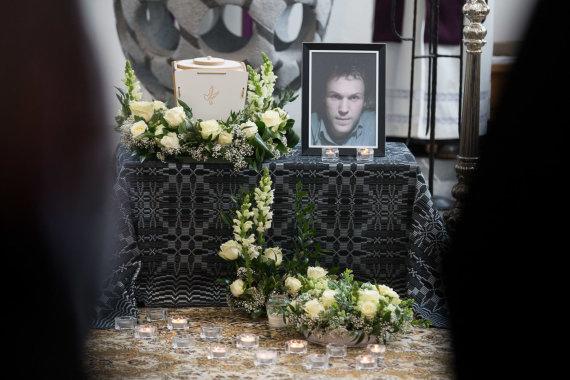 Žygimanto Gedvilos / 15min nuotr./Atsisveikinimas su Audriumi Kemežiu