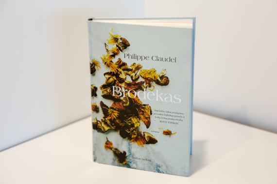 """Luko Balandžio / 15min nuotr./Philippe'o Claudel'io knyga """"Brodekas"""""""