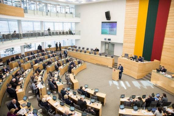 Žygimanto Gedvilos / 15min nuotr./Seime svarstomas A.Skardžiaus apkaltos klausimas
