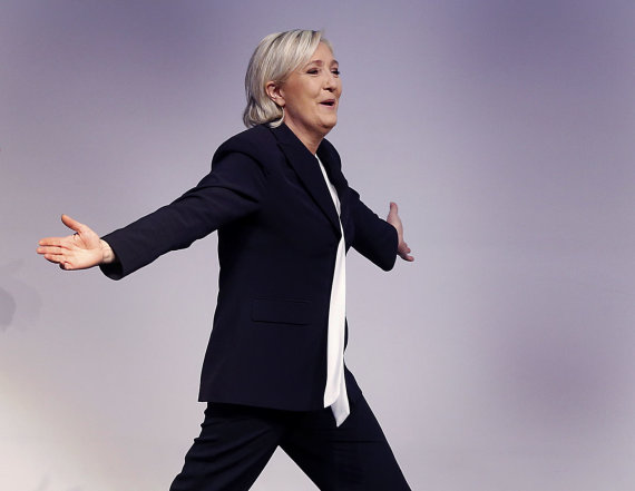 """Scanpix""/AP nuotr./NF vadovė Marine Le Pen"