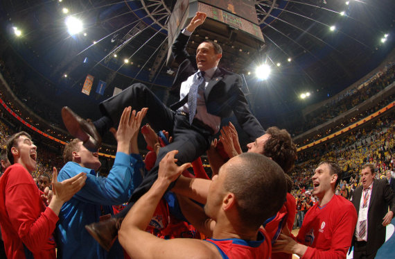 Getty Images/Euroleague.net nuotr./Ettore Messina 2006 m.