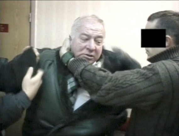 """Reuters""/""Scanpix"" nuotr./FST agentų sulaikytas Sergejus Skripalis"
