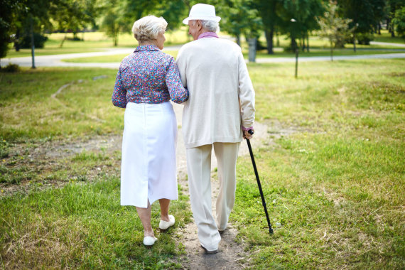 123RF.com nuotr./Pensininkų pora