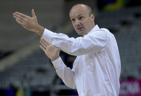 """Reuters""/""Scanpix"" nuotr./Slovėnijos rinktinės treneris Jure Zdovcas"