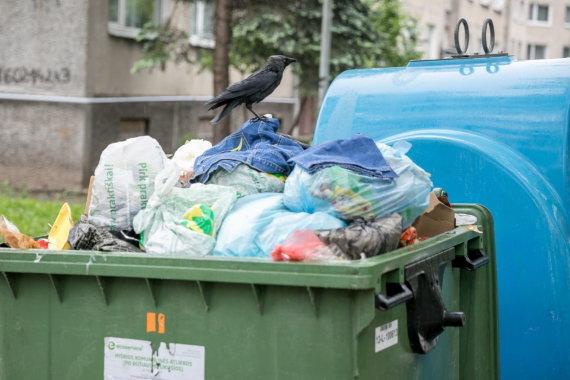 Sauliaus Žiūros nuotr./Atliekų konteineriai