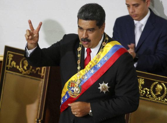 """Scanpix""/AP nuotr./Venesuelos prezidentas Nicolasas Maduro"